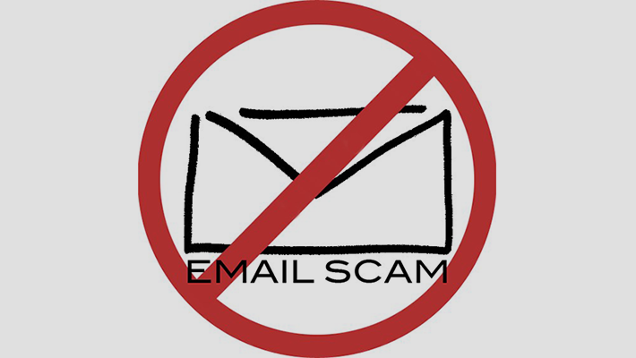 Thumb email scam photo